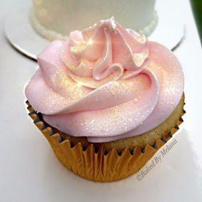 cupcake rose pailettes