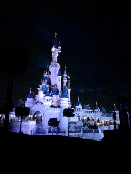 chateau disney nuit