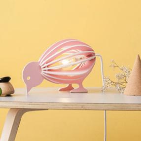 lampe a poser oiseau