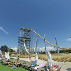 Rocket et géant Wave Island