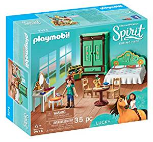 playmobil chambre lucky spirit
