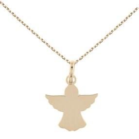 collier---pendentif-ange-or-jaune---chaine-doree-offerte