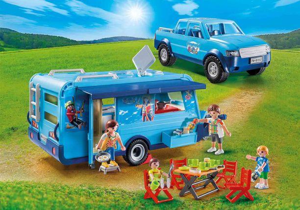 caravane voiture playmobil