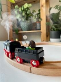 test loco vapeur brio