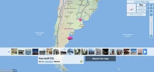 Fotos y geolocalización