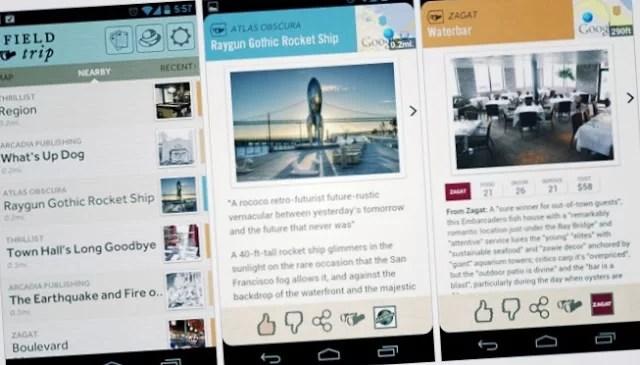 Fieldtrip: Google lanza su guía personalizada para móviles