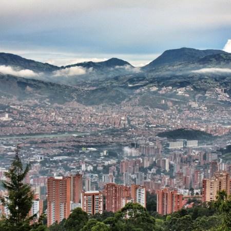 Vista de Medellín, por Jorge Gobbi