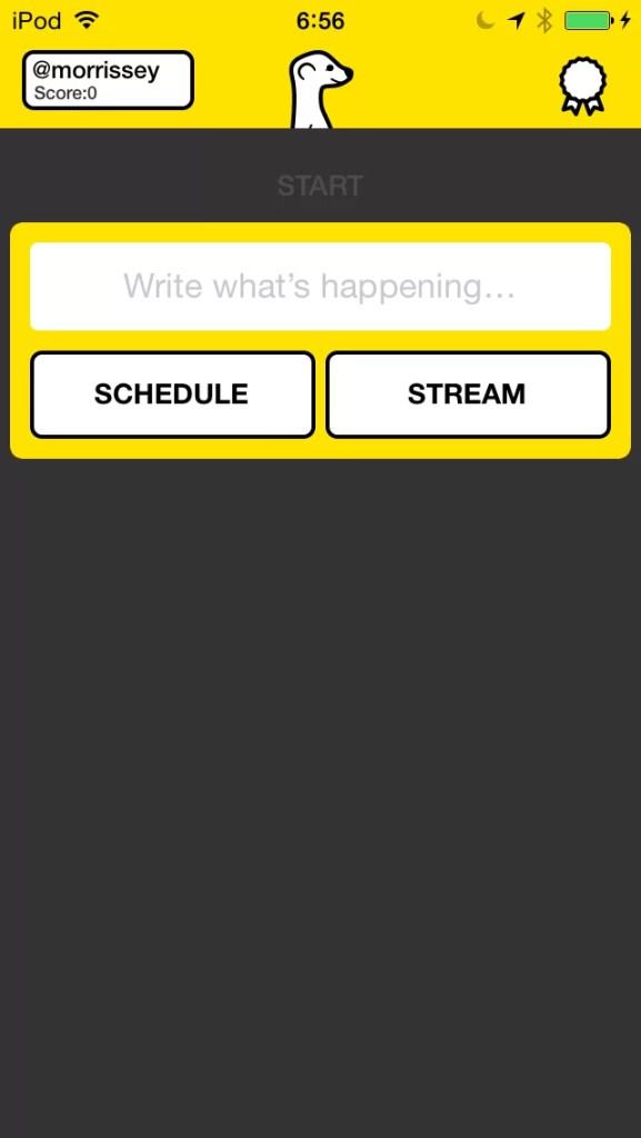 Meerkat, video streaming para móviles + una capa social vía Twitter.