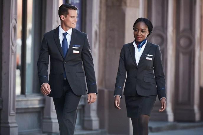Uniformes American Airlines