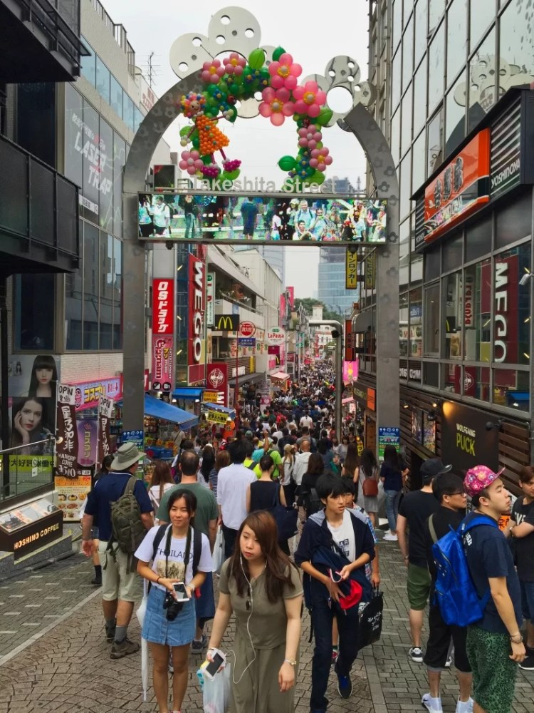 Tokio: Takeshita Street, Harajuku