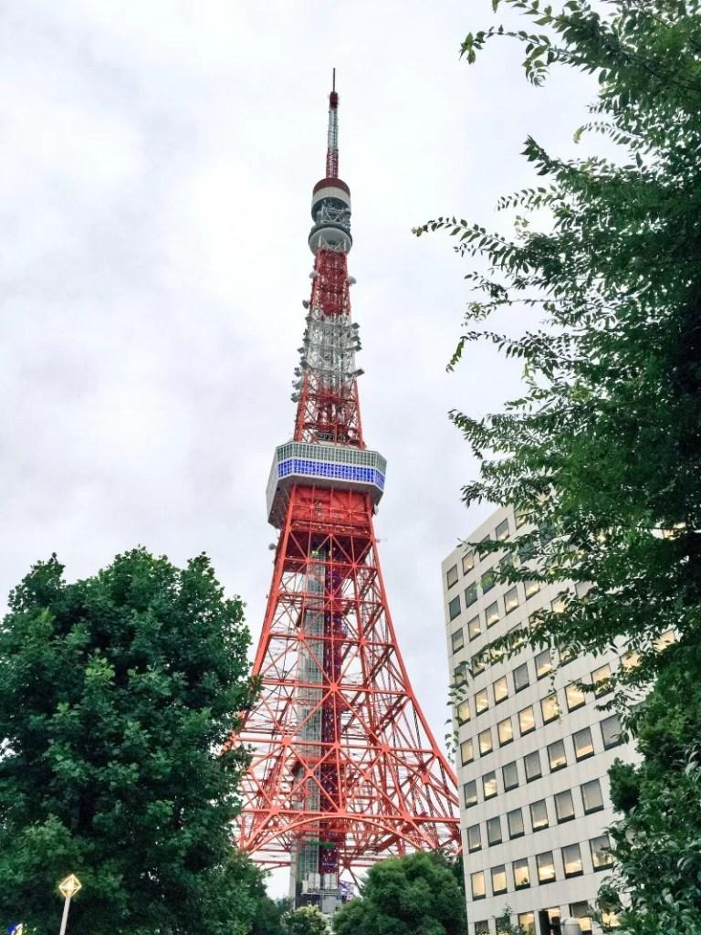 Tokio: Tokyo Tower