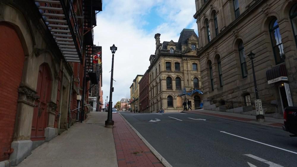 Centro histórico de Saint John