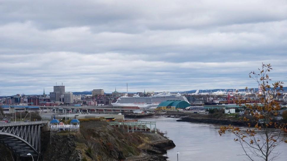 Vista de Saint John