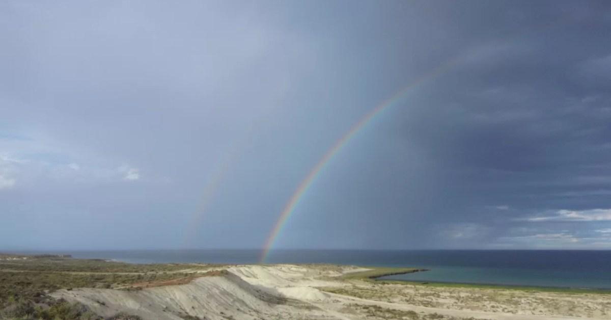 Arco Iris en Golfo Nuevo