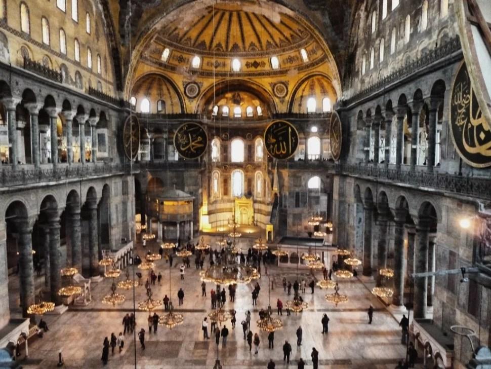 Hagya Sophia, Estambul