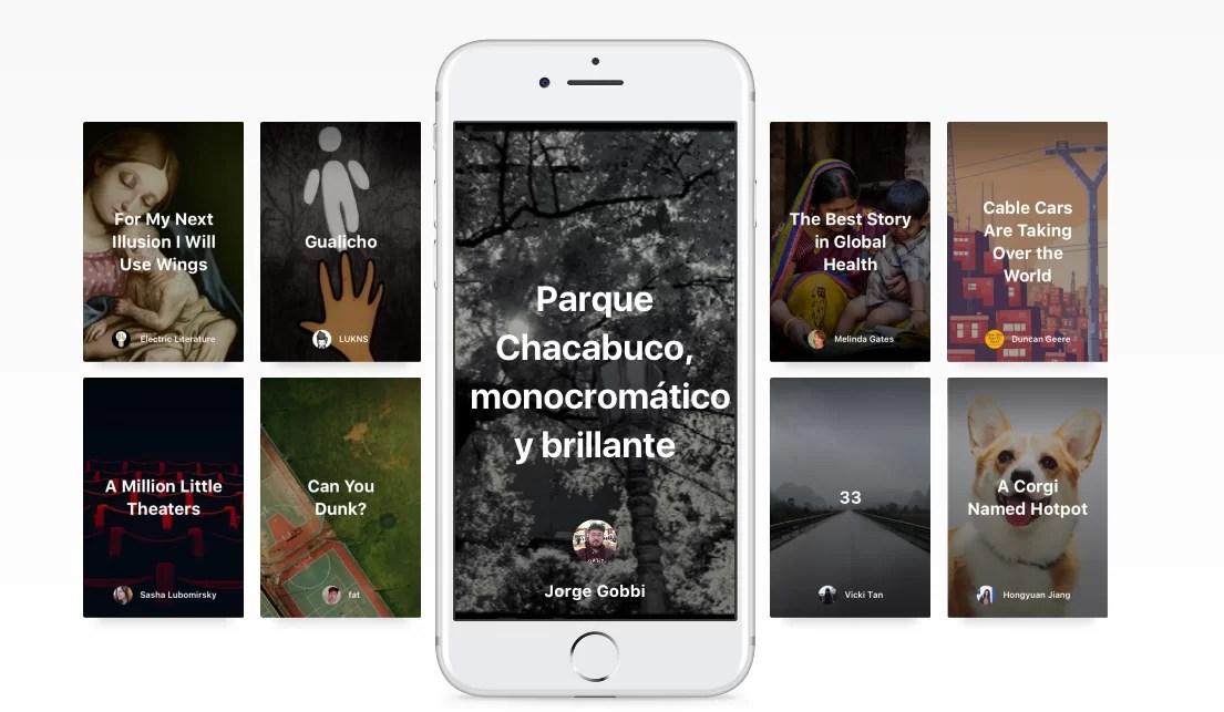 Storytelling para móviles en Medium