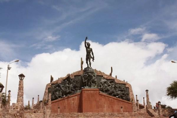 Monumento a la Independencia, Humahuaca