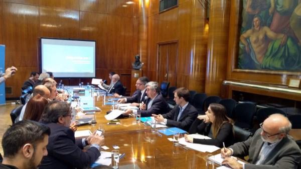 Conferencia de prensa Aerolíneas Argentinas