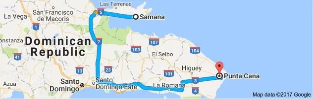 Punta Cana - Samaná