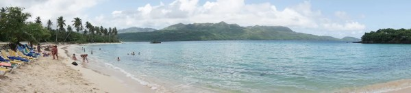 Una panorámica de Playa Rincón