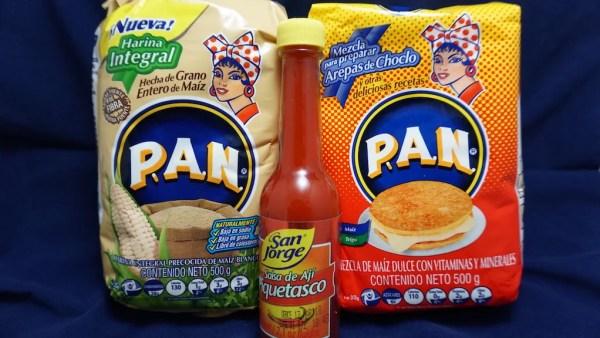 Harina PAN + picante colombiano