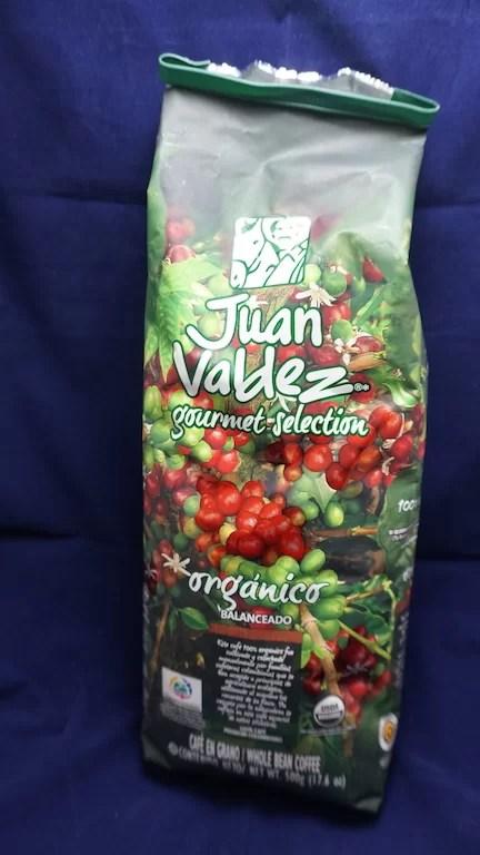 Lista de compras: Juan Valdez orgánico