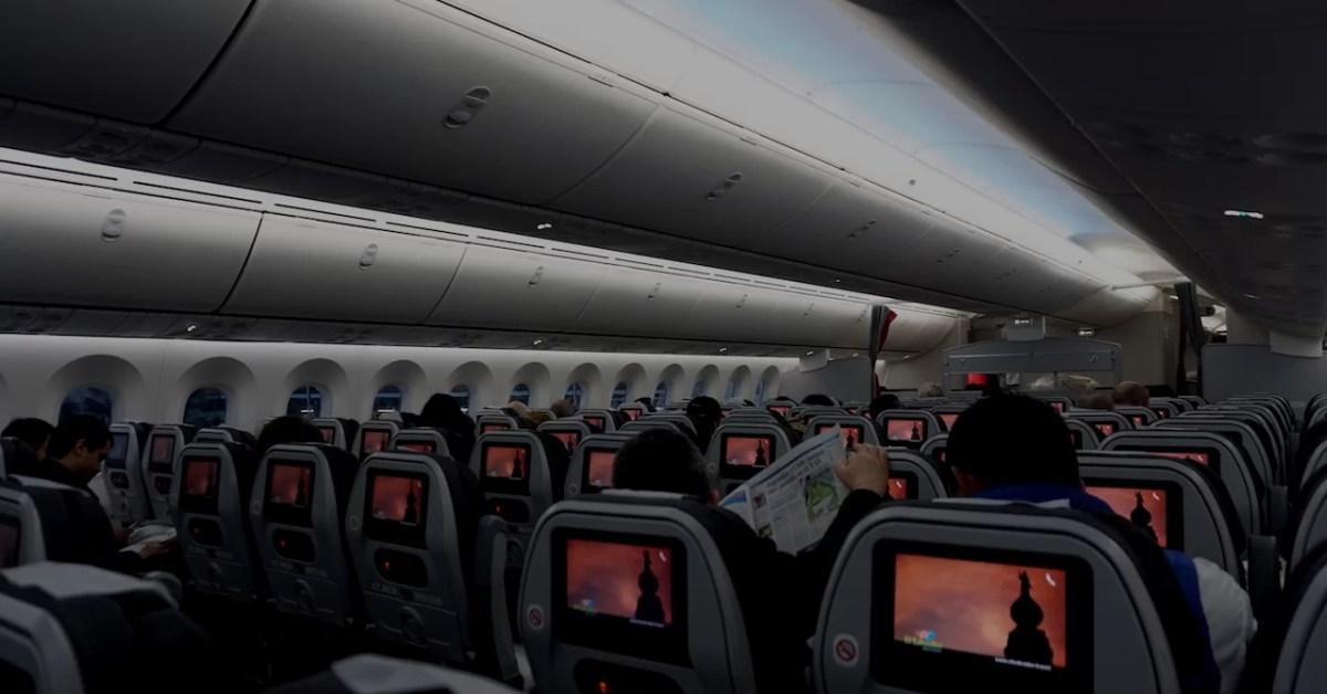 Adiós a las pantallas en aviones