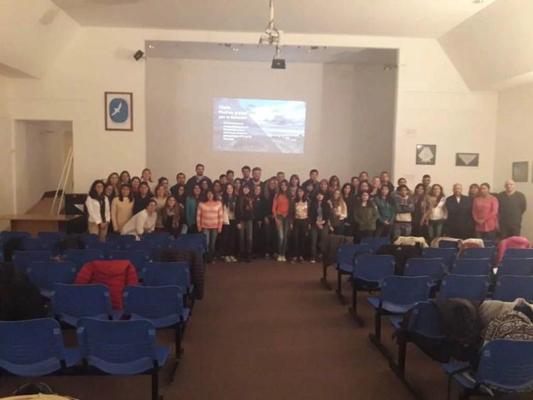 Asistentes seminario Madryn 2018