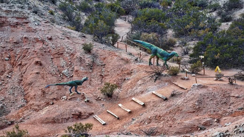 Parque de los dinosaurios