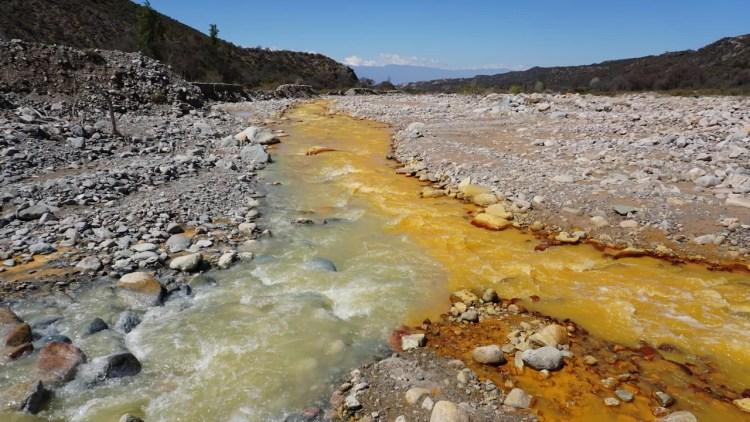 Río Amarillo y Río Negro, Chilecito, La Rioja.