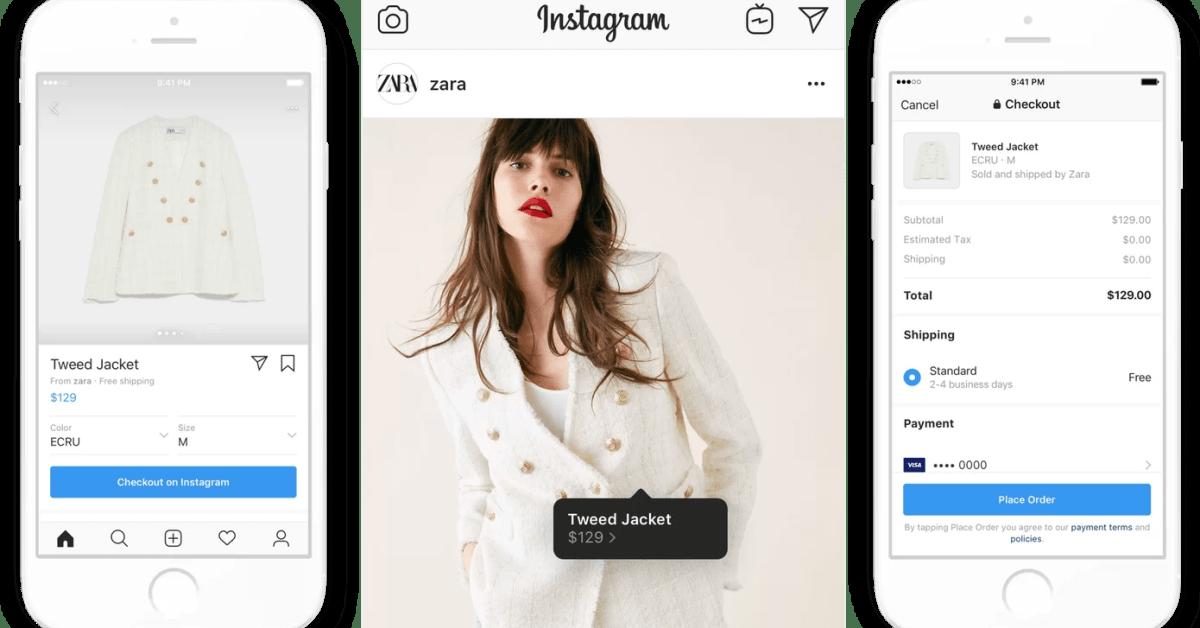 Instagram entra al comercio electrónico