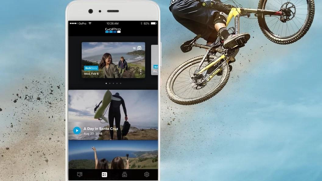 GoPro y QUik, todo en la misma app