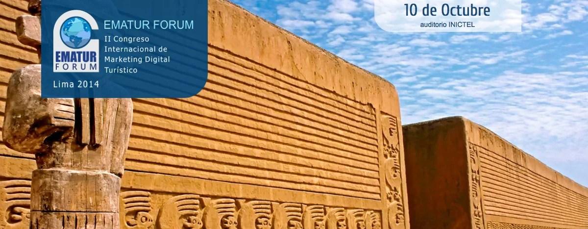 Blog de Viajes en el Congreso de Marketing Turístico EMATUR, Lima, 10 de octubre