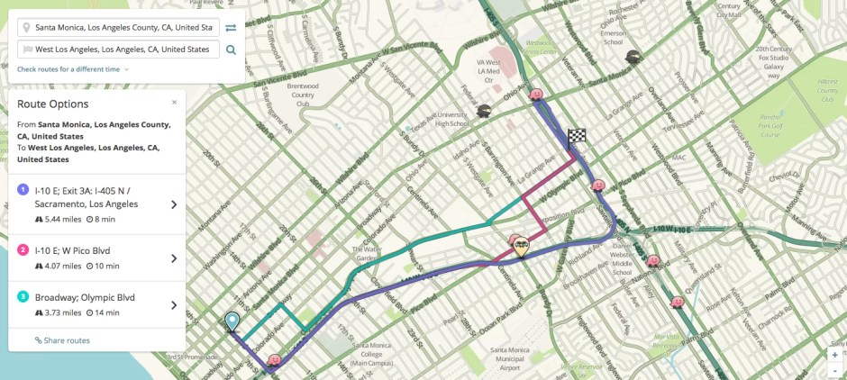 Waze Los Angeles