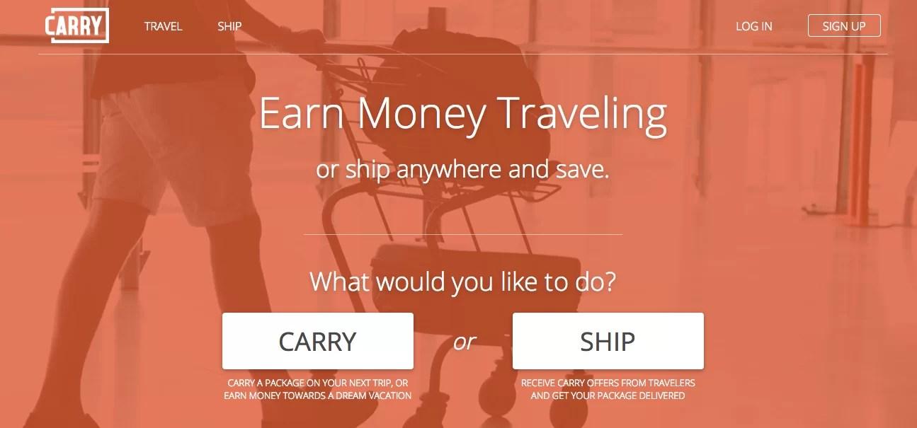 Carry, una forma de alquilar tu espacio libre en la valija