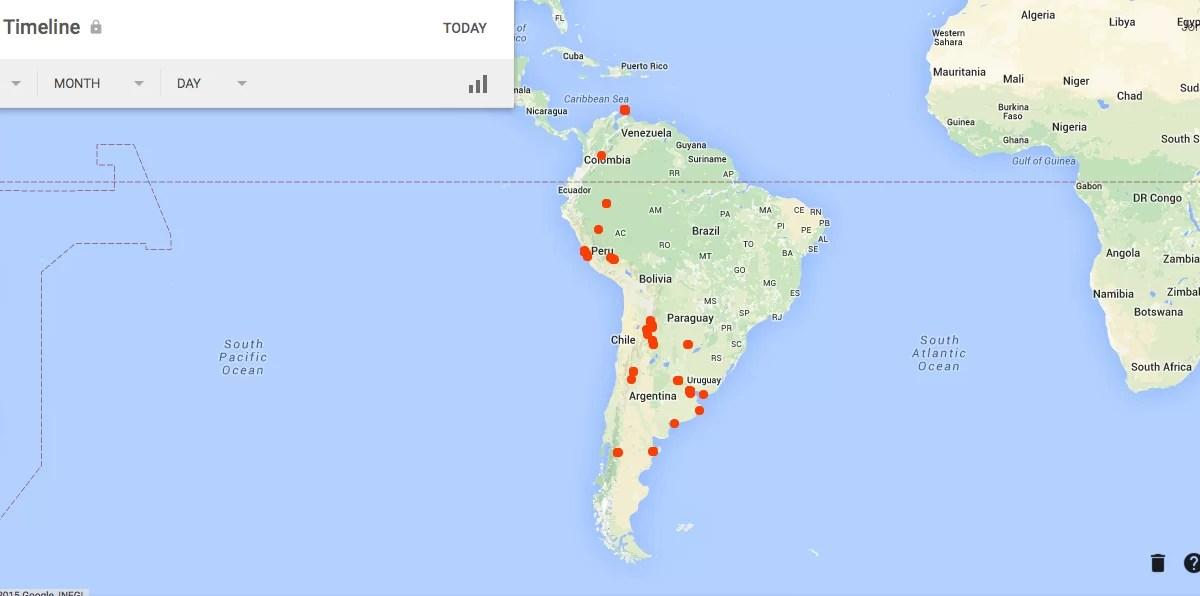 Google Maps como guía de viajes