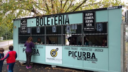 Boletería de Picurba