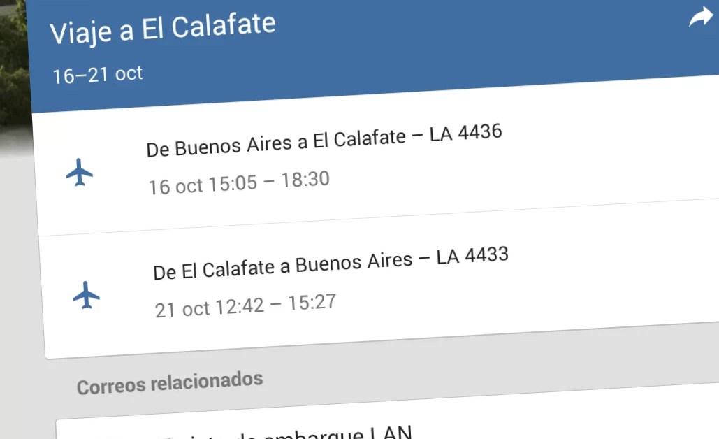Gmail Inbox mejora sus funcionalidades para manejar viajes