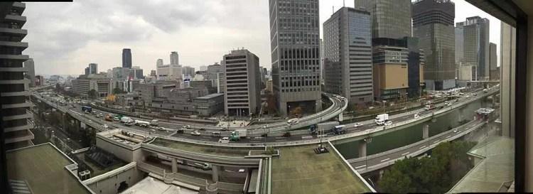 Vista de Osaka
