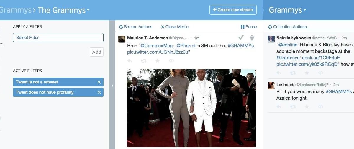 Twitter Curator: contenidos más allá del tiempo real