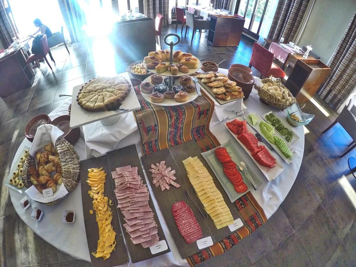 Desayuno Grace Hotel Cafayate