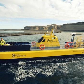 """Submarino amarillo"" en Puerto Madryn"