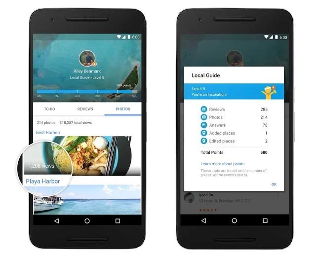 Google Local Guides: cómo funciona el sistema de recompensas para los usuarios