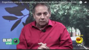 Fissuras: Engenheiro alerta para possível rompimento da parede do açude Boqueirão. Veja o vídeo!