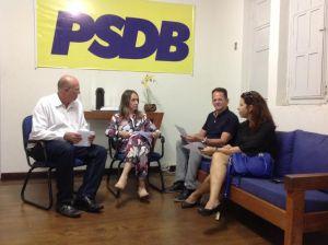 Eliza presidirá o PSDB mulher e Lauremília será reconduzida ao comando do partido em JP