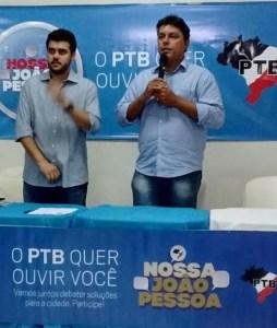 PTB anuncia hoje nome do pré-candidato a prefeito de JP