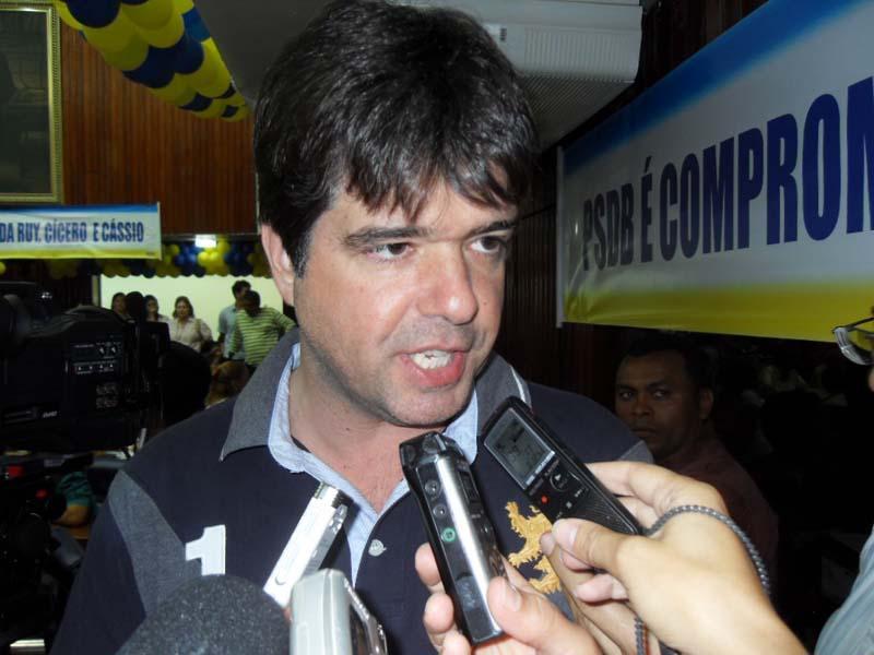 Ruy pondera informação do blog e diz que PSDB será correto com vereadores