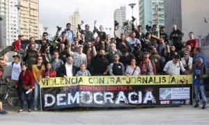 Associação de Rádio e TV repudia violência contra jornalistas