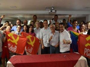 Helton reafirma apoio a Cartaxo, mas presidente do PCdoB não descarta entendimento com PSB