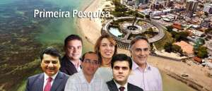 Pesquisa Arapuan/Opinião: Cartaxo lidera e Cida Ramos já aparece em segundo lugar nas intenções de voto em JP